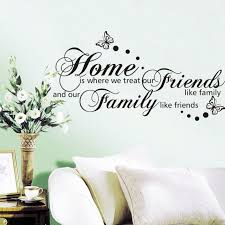 Neue 56107 Cm Zuhause Ist Wo Wir Behandeln Freunde Wie Familie