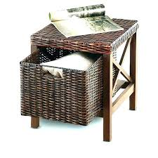 coffee table with storage baskets black coffee table with baskets under coffee table storage baskets coffee