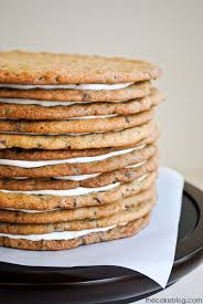 chocolate chip cookie layer cake the ultimate cookie cake for cookie by carrie