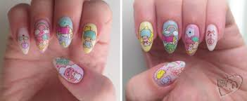 mno: Little Twin Stars Nail Decals