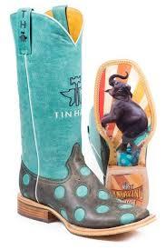 Tin Haul Womens Moley Elephant Cowgirl Boots Headwest