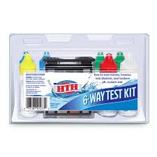 Hth 6 Way Test Kit Color Chart Hth 6 Way Test Kit For Swimming Pools Walmart Com