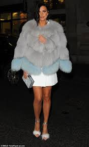 lucy mecklenburgh 24 certainly made a unique statement at the instyle