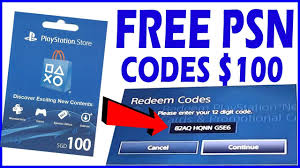 how to get free psn codes free playstation plus free psn codes