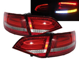 avant lighting. a4s4rs4 b8 8k avant wagon 20082011 prefacelift led bar tail rear light v1 redclear for audi youtube avant lighting