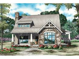Balcarra English Cottage Home Plan D    House Plans and MoreLake House Plan Front of Home   D    House Plans and More