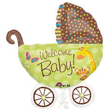 Baby Buggy Balloons Baby Carriage Balloons The Perfect Baby