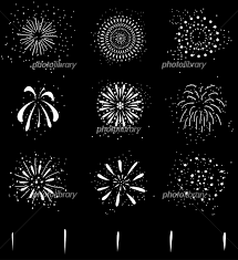 花火 セット イラスト素材 5100808 フォトライブラリー Photolibrary