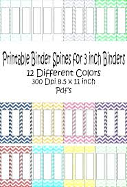 Avery Binder Spine Inserts Template Free 3 Binder Spine Insert Template Inch For Printable Inserts
