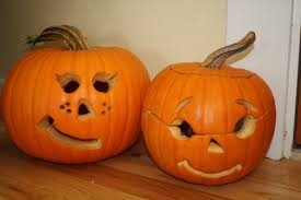 ... Enchanting Accessories For Halloween Decoration With Cute Couple Pumpkin  Carving Ideas : Fantastic Accessories For Kid ...