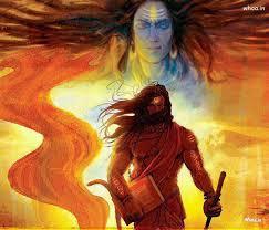 lord shiva hd painting wallpaper