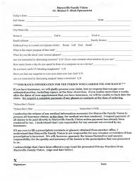 medical patient registration form patient registration form