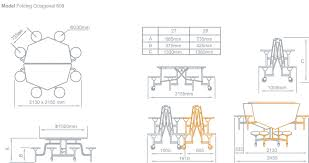 amazing table dimension 10 concorde rectangular poliform 56738 dim5a3a76a2