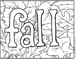 Small Picture Free Fall Printable Coloring Pages anfukco