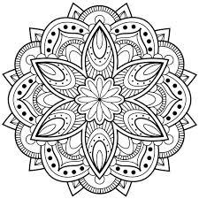 Mandala Coloring Pages Kleo Beachfix Co