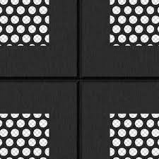 Black ceiling perforated metal texture seamless 10570