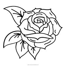 Rosa Disegni Da Colorare Ultra Coloring Pages Con Rosa Da Colorare E