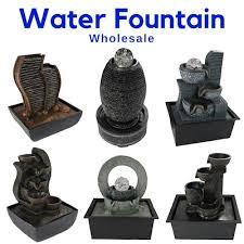 fengshui water fountain feature indoors desktop countertop small
