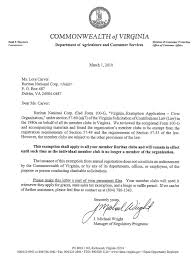 Solicitation For Donation Registrations Not Required For Virginia