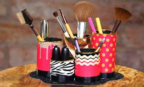 you have successfully created this beauty for your dressing table set to stock up all your makeup must haves in makeup brush holder