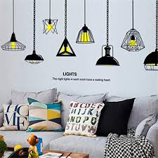 wall sticker chandelier franterd removable wall decal for living room family sticker mural art home tv sofa classroom background decoration decor