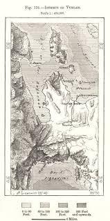 Isthmus Of Urla Turkey Sketch Map 1885 Old Antique Vintage Plan Chart