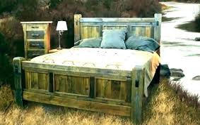 reclaimed wood bed frame king – Gymigoapp