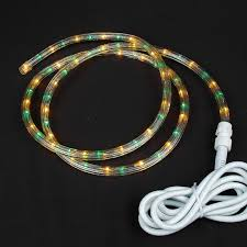 2 Wire Vs 3 Wire Rope Light Yellow Green Custom Chasing Rope Light Kit 120v 3 Wire