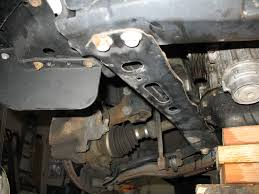 replace water pump my stupid projects front suspension member reinforcement rh 7911