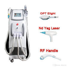 E Light Laser Hair Removal 3 In 1 Multifunctional Opt Laser E Light Nd Yag Laser Hair Removal Skin Rejuvenation Pigment Removal Laser Tattoo Removal