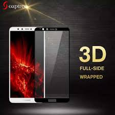 <b>2PCS Full Glue Cover</b> Glass Vivo Z5x Screen Protector Tempered ...