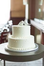 Wedding Cake With Burlap Ribbon Small Wedding Cake Ideas A