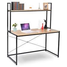 Tisch Schreibtisch Bürotisch Arbeitstisch Holz Stahl Tsb02hei