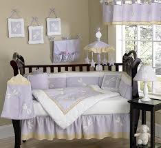 bedroom appealing lavender colored bedding for dragonfly baby