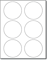 Avery Templates For Mac Adhesive 6 Up Round Labels Measure 3 1 Avery Template For Mac