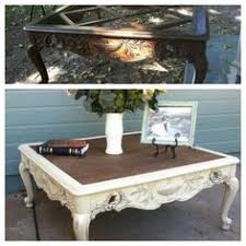 Coffee Table Replacement Glass French Provincial Coffee Tables Painted  Refinished White And Sealed Glazed With Provincial Idea