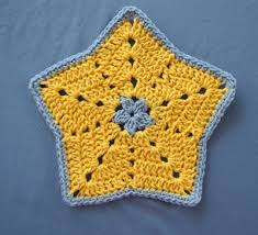 Star Crochet Pattern Inspiration BellaCrochet Little Star Dish Cloth Or Wash Cloth A Free Crochet