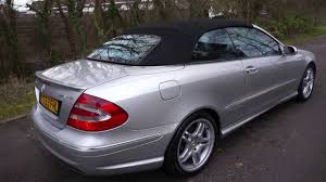 2003(53) MERCEDES CLK55 AMG 5.4 V8 CONVERTIBLE SILVER AUTOMATIC ...