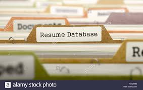 Free Resume Database Resume Database Concept on File Label in Multicolor Card Index 32