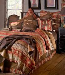 bucking bronc king comforter set