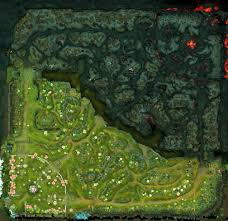 the complete dota2 map 25 megapixel resolution version in