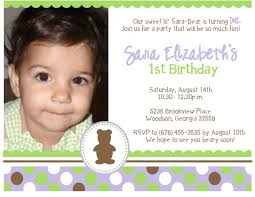 First Birthday Invitation Card Matter First Birthday Invitation Card