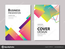 Brochure Graphic Design Background Abstract Modern Geometric Cover Brochure Design Template