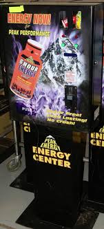 Energy Shot Vending Machine Awesome PEEK ENERGY DRINK VENDING MACHINES