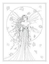 Fairy Coloring Pages Online Handsome Intricate Picture Colouring To