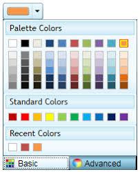 office color palette. WPF Color Picker Office Palette