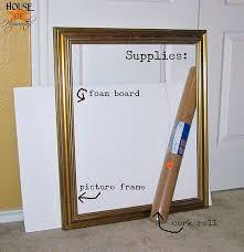 office cork board ideas. diy corkboard from a roll of cork foam core and frame office board ideas i