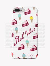 Red Velvet Ice Cream Cake Case Candysky Studio