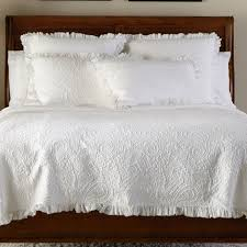 Shop Bed Comforter Sets | Quilts and Coverlets | Ethan Allen & White Paisley Matelassé Coverlet and Shams , ... Adamdwight.com