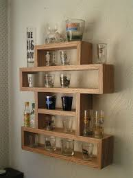 amazing shot glass shelf by adam lumber jock com woodworking community display case oz dessert size